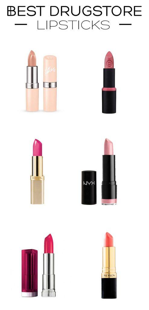 Best-Drugstore-Lipsticks