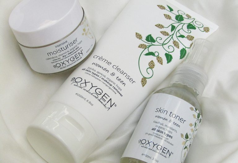 Oxygen skincare review